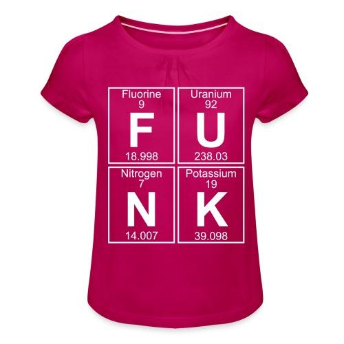 F-U-N-K (funk) - Full - Girl's T-Shirt with Ruffles