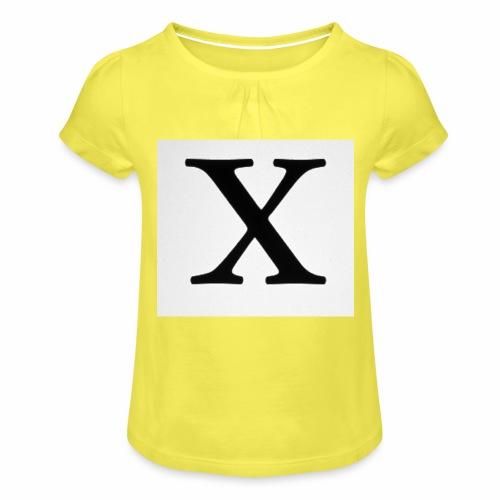 THE X - Girl's T-Shirt with Ruffles