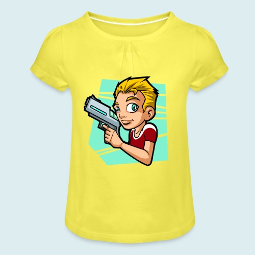 sci fi boy - Maglietta da ragazza con arricciatura