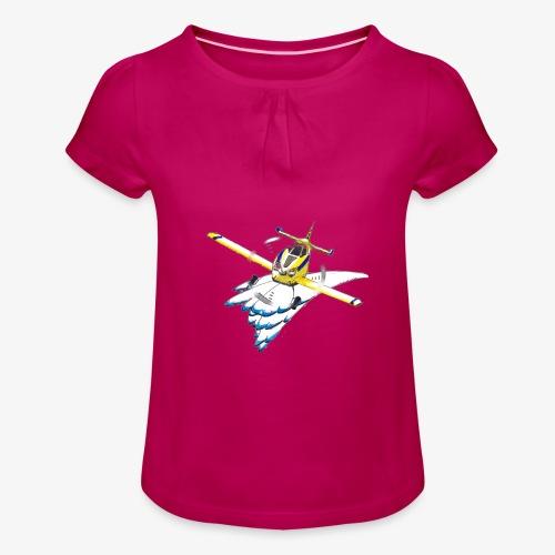 ATC2 - T-shirt à fronces au col Fille