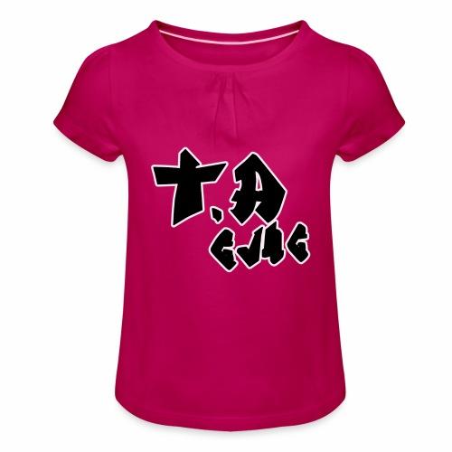 T.A GVNG - T-shirt à fronces au col Fille