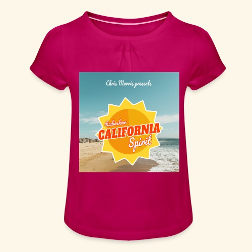 California Spirit Store - T-shirt à fronces au col Fille