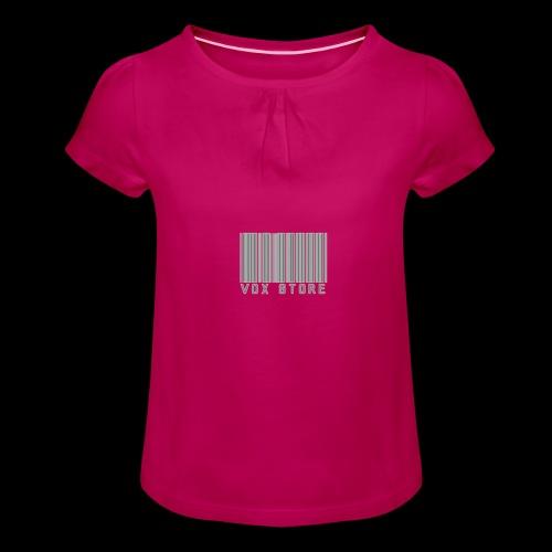 Vox' - T-shirt à fronces au col Fille