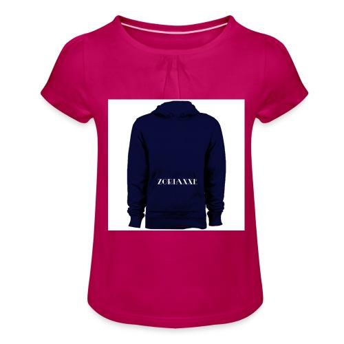 T shirt - T-shirt à fronces au col Fille