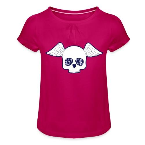 rock star enfant / fille - T-shirt à fronces au col Fille