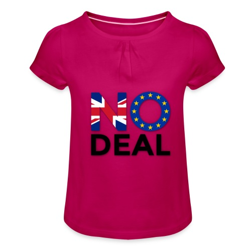 No Deal - Girl's T-Shirt with Ruffles
