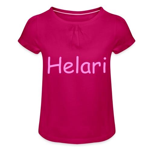 Helari Merch - Tyttöjen t-paita, jossa rypytyksiä