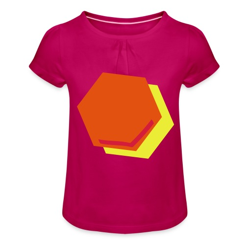 detail2 - Meisjes-T-shirt met plooien