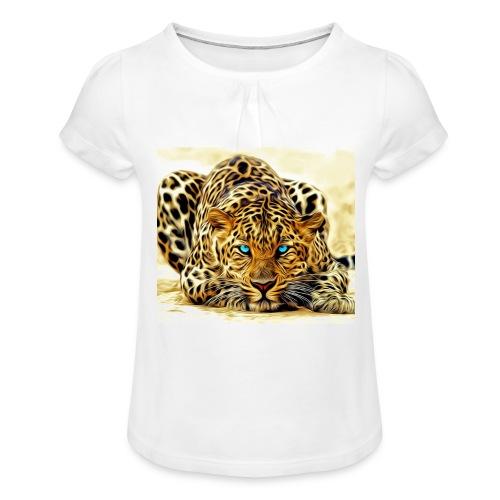 IL SIMBOLO DEL CANALE - Maglietta da ragazza con arricciatura