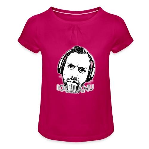 Motivo Ioculanu - Maglietta da ragazza con arricciatura