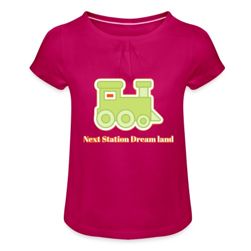 Next Station Dream country - Girl's T-Shirt with Ruffles