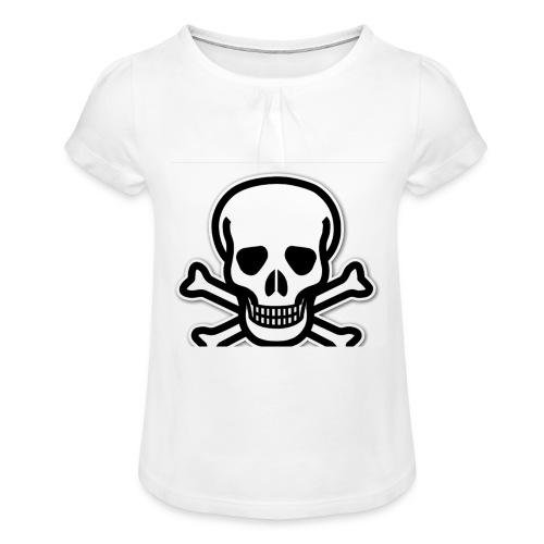 6EB5A343 BDAF 405B AF03 E7E53BF3BE03 - T-shirt med rynkning flicka