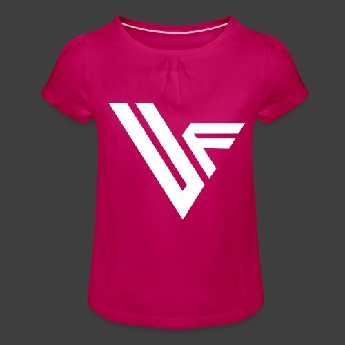 United Front Alternative Logo collection - Tyttöjen t-paita, jossa rypytyksiä