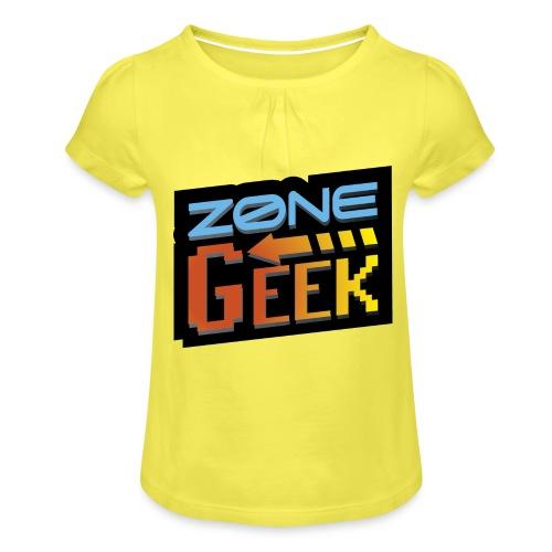 NEW Logo T-Shirt Femme - T-shirt à fronces au col Fille