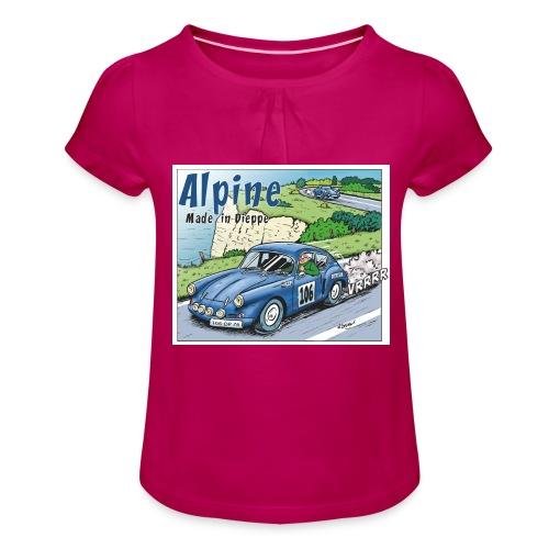 Polete en Alpine 106 - T-shirt à fronces au col Fille