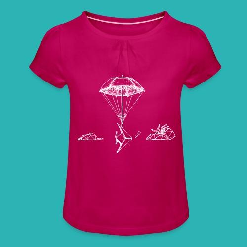Galleggiar_o_affondare-png - Maglietta da ragazza con arricciatura