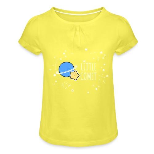 Little Comet - Tyttöjen t-paita, jossa rypytyksiä