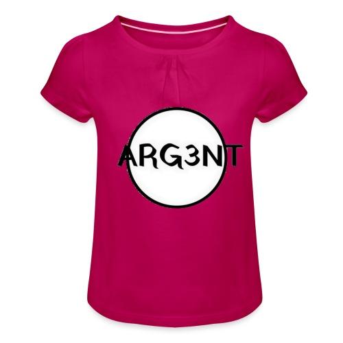 ARG3NT - T-shirt à fronces au col Fille