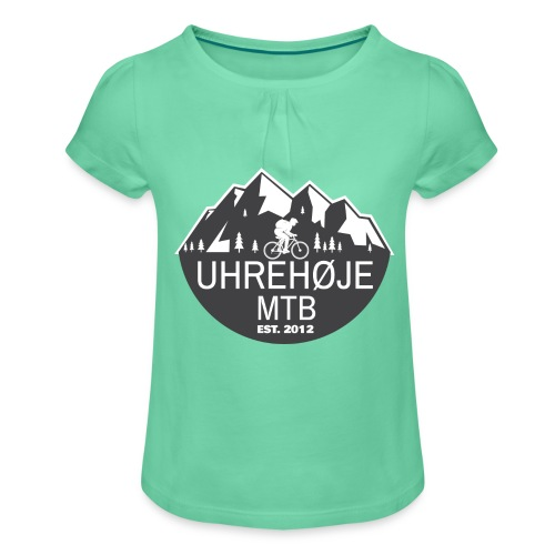 UhreHøje MTB - Pige T-shirt med flæser