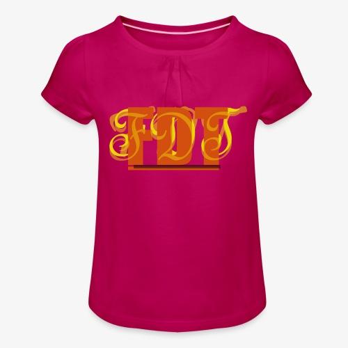 FDT - Girl's T-Shirt with Ruffles