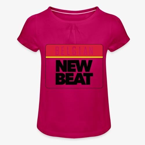 BNB LOGO - Meisjes-T-shirt met plooien