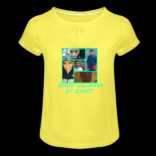 Limited Edition Gillmark Family - Girl's T-Shirt with Ruffles