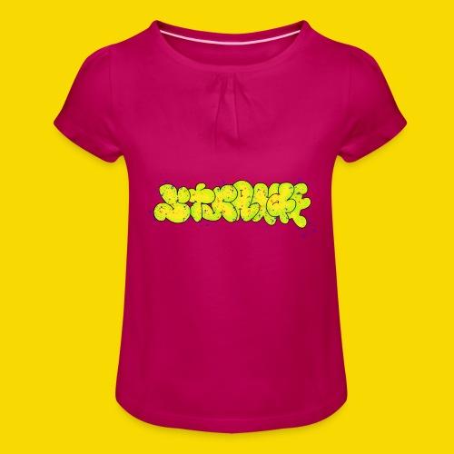Strange Graffiti - Koszulka dziewczęca z marszczeniami