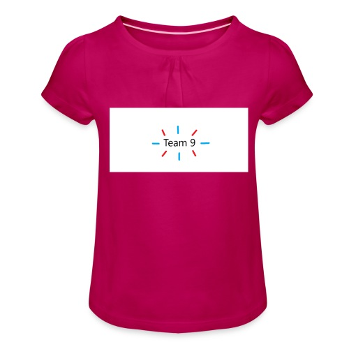 Team 9 - Girl's T-Shirt with Ruffles