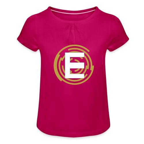 E-Campionato Semplice - Maglietta da ragazza con arricciatura
