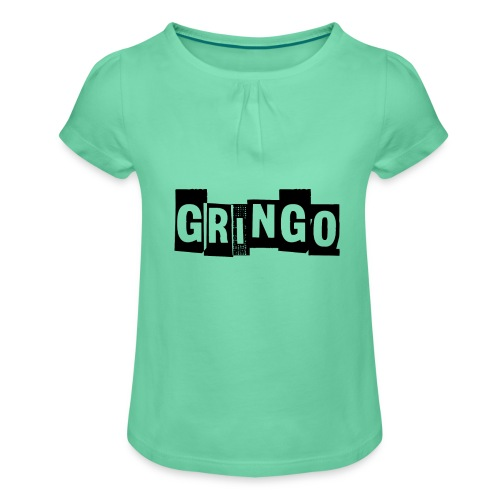 Cartel Gangster pablo gringo mexico tshirt - Girl's T-Shirt with Ruffles