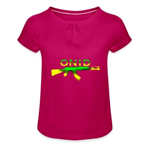 ONID-22 - Maglietta da ragazza con arricciatura