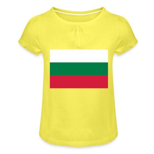 Bulgaria - Meisjes-T-shirt met plooien