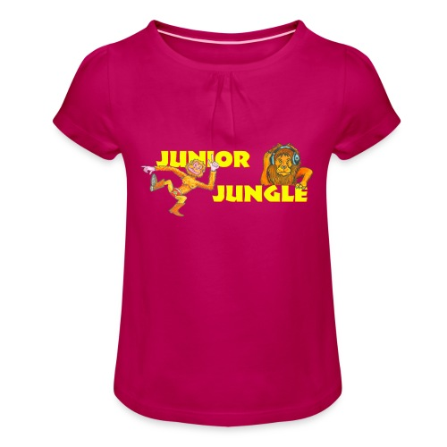 T-charax-logo - Girl's T-Shirt with Ruffles