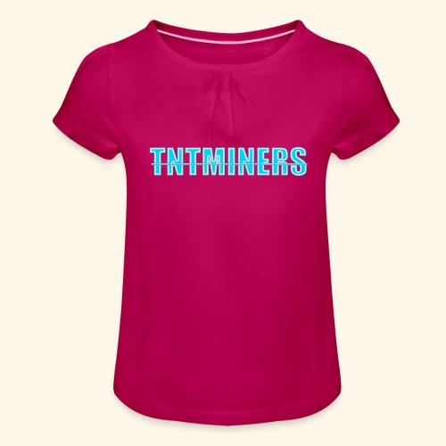 tntminers annan faerg 4 - T-shirt med rynkning flicka
