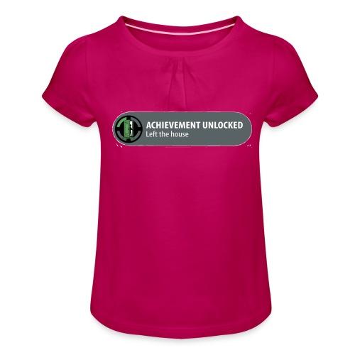 Achievement - Meisjes-T-shirt met plooien
