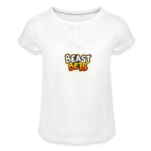 BeastBets - Pige T-shirt med flæser