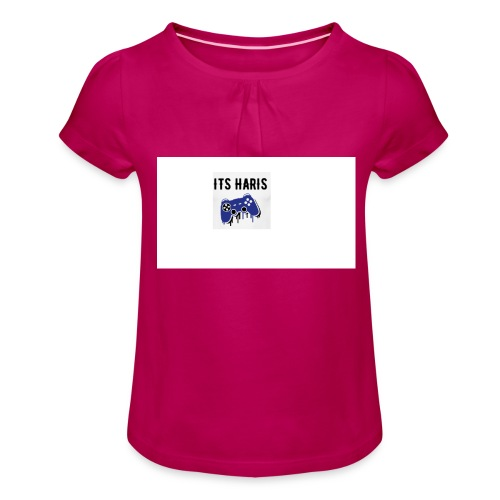 Its Haris limted edition - Girl's T-Shirt with Ruffles