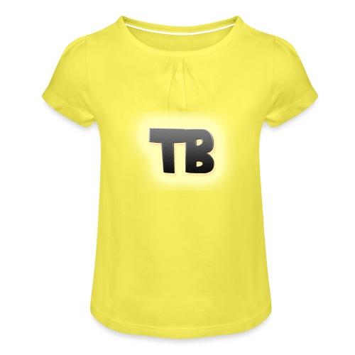 thibaut bruyneel kledij - Meisjes-T-shirt met plooien