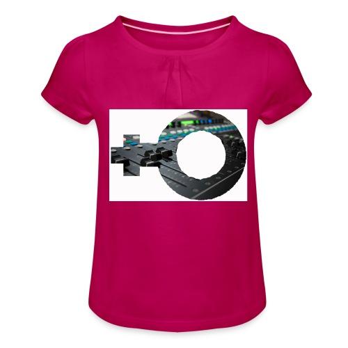 women in sound - Girl's T-Shirt with Ruffles