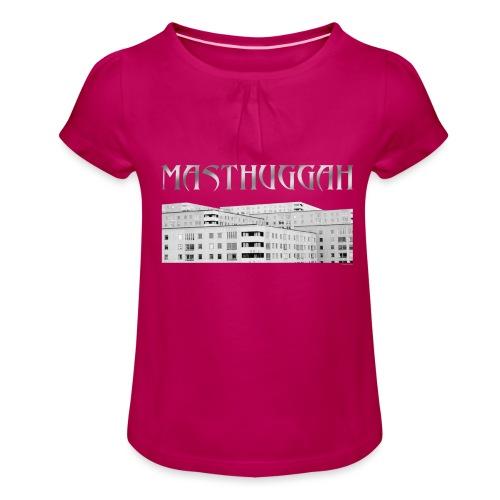 Masthuggah masthuggsterassen - T-shirt med rynkning flicka