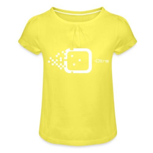 Logo Associazione Oltre - Maglietta da ragazza con arricciatura