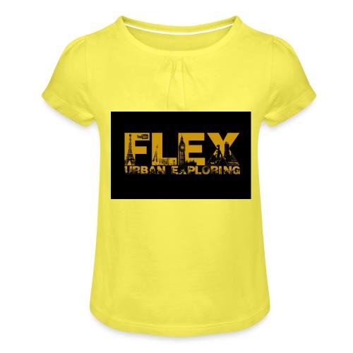 FlexUrban - Girl's T-Shirt with Ruffles