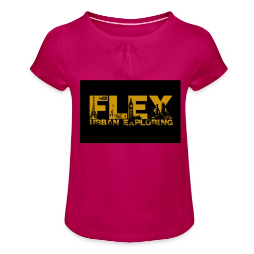 FlexUrban - Girl's T-Shirt with Ruffles