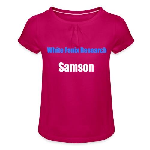 WFR Samson - T-shirt à fronces au col Fille