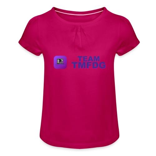 Team TMFDG | Collection 2020 - T-shirt à fronces au col Fille