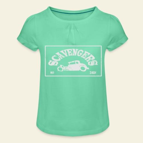 scavengers1 - Pige T-shirt med flæser