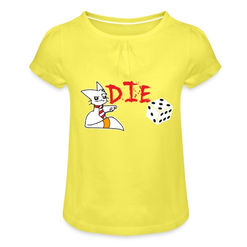 DIE - Girl's T-Shirt with Ruffles