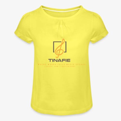 Where Words fails Music speaks!!! - Pige T-shirt med flæser