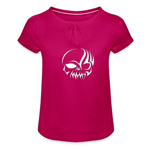 Designe Shop 3 Homeboys K - Mädchen-T-Shirt mit Raffungen