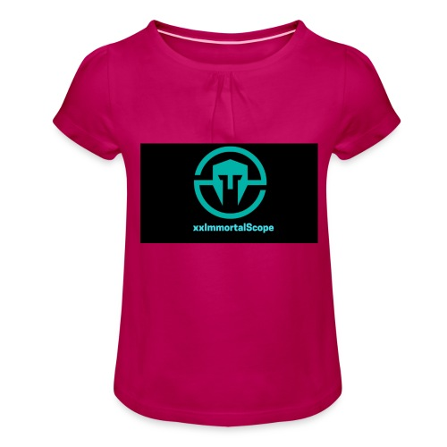 xxImmortalScope throwback - Girl's T-Shirt with Ruffles